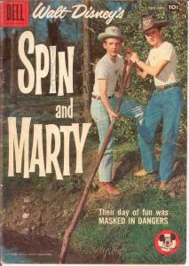 SPIN & MARTY 7 VG   Sept.-Nov. 1958 COMICS BOOK