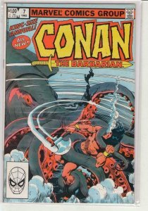 CONAN the BARBARIAN #7 Annual, VF/NM, Robert Howard, Buscema, more in store