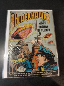 BLACKHAWKS #71 GOLDEN AGE CLASSIC/ ORIGIN OF THE BLACKHAWKS