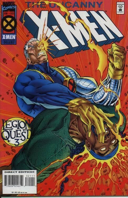 UNCANNY X-MEN (1963 MARVEL) #321