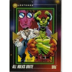 1992 Marvel Universe Series 3 ALL HULKS UNITE #194