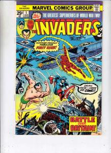Invaders,The #1 (Aug-75) VF/NM High-Grade The Human Torch