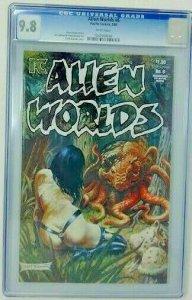 Alien Worlds #6 ~ 1984 Pacific Comics ~ CGC 9.8 NM/MT