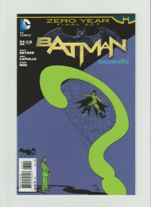 Batman #32 NM (2014, DC Comics) NEW 52, ZERO Year Final Act!! Capullo Art & Cvr!