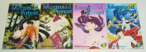 Mermaid Forest #1-4 VF/NM complete series - viz select comics manga takahashi