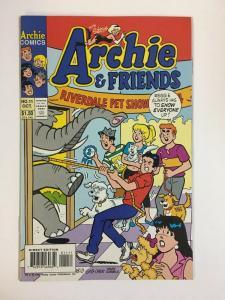 ARCHIE & FRIENDS (1992)11 VF-NM  Oct 1994 COMICS BOOK