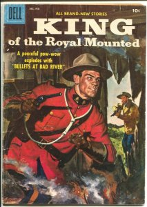 King Of The Royal Mounted #23 1957-Dell-RCMP stories-VG