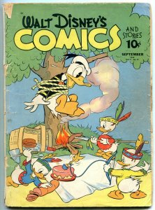 Walt Disney's Comics and Stories #24 1942- Walt Kelly- Carl Barks- Incomplete