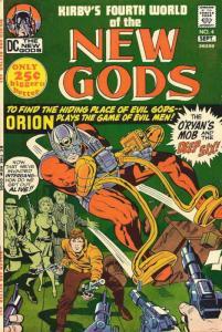 New Gods, The (1st series) #4 VG; DC | low grade comic - save on shipping - deta