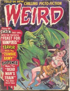 Weird Vol.4 #5 1970-Eerie-Feast For Vampires-zombie army-FR/G