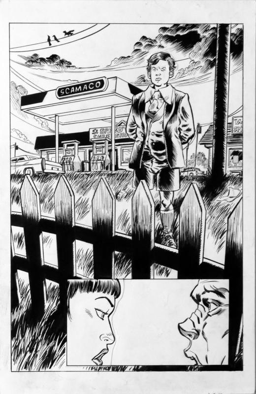 DEAN KOTZ Original Published Art, TRAILER PARK of TERROR #9 page 2, Zombies