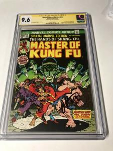 Special Marvel Edition 15 Cgc 9.6 Ss Signature Series Jim Starlin 1st Shang Chi