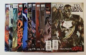 Punisher : Frankenstein Castle #11-21 Set Marvel Comics 2010 VF/NM