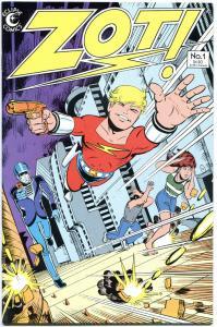 ZOT ! #1 2 3-36 + 14 1/2, VF/NM, 37 issues, 1984, Scott McCloud, Eclipse