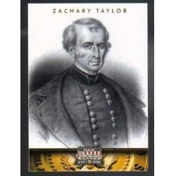 2012 Panini Americana Heroes and Legends ZACHARY TAYLOR #12