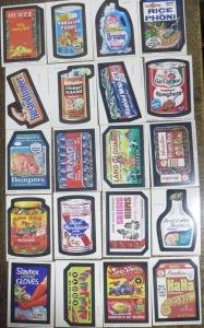 TOPPS WACKY PACKAGES-- 1st RERUN SERIES (1979), MISSING 14! 65 Doubles!
