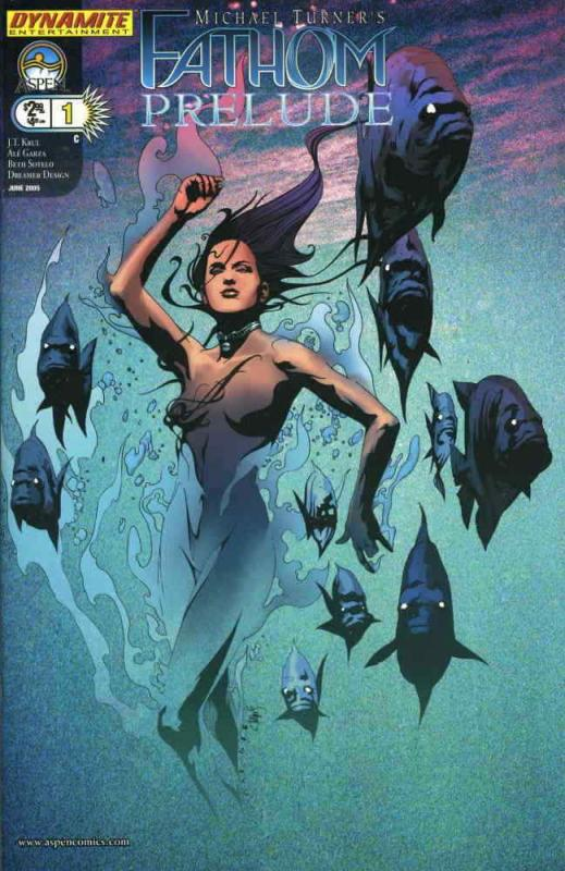 Fathom Prelude (Michael Turner's…) #1C VF; Aspen | save on shipping - details in