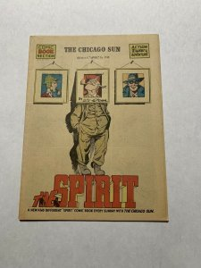 The Spirit Comic Book Section Sunday April 26 1942 Nm- Near Mint-