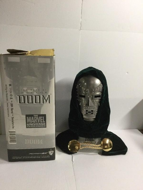 The Mask Of Doctor Doom Marvel Universe Collectors Edition Factory X