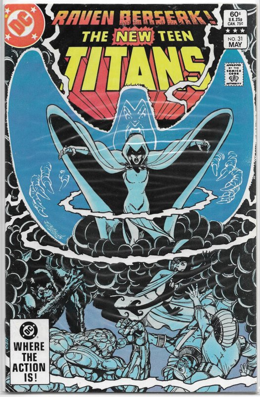 New Teen Titans (NTT vol. 1, 1980) #31 FN Wolfman/Perez, Brotherhood of Evil