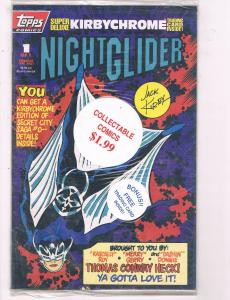 Night-Glider #1 Of 1 NM/M SIGNED POLYBAG Topps Comics Comic Book 1993 DE6