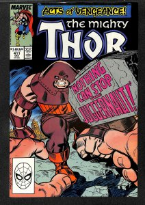 Thor #411 VF/NM 9.0 1st New Warriors! Marvel Comics