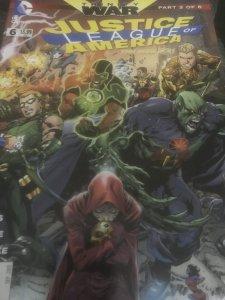 DC Justice League Of America #6 Mint Trinity War