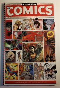 WEDNESDAY COMICS LARGE SIZE GRAPHIC NOVEL HARD COVER DC 18X 11 2010