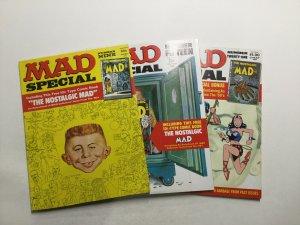 Mad Special 9 15 21 Magazine Lot Very Fine Vf 8.0 Entertaining Comics
