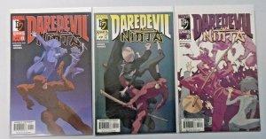 Daredevil Ninja set:#1-3 8.0 VF (2000)