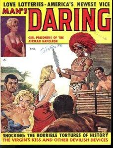 MAN'S DARING 1960 DEC VF