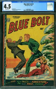 Blue Bolt #9 (Novelty Press, 1948) CGC 4.5