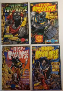THE RISE OF THE APOCALYPSE #1-4 COMPLETE SET MARVEL COMICS 1996