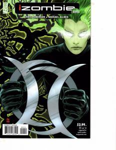 Lot Of 2 Comic Books DC Izombie #25 and Adam Strange #2 Batman Superman  MS9
