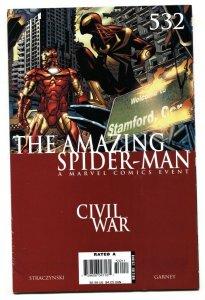 AMAZING SPIDER-MAN #532  comic book Civil War avengers movie MCU