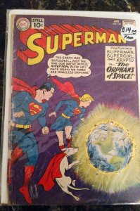 Superman #144 (DC,April  1961) Condition GD-