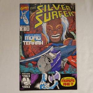 Silver Surfer 80 Near Mint- Art by Ron Frenz