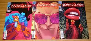 Demon Cleaner #1-3 VF/NM complete series - antarctic press horror comics set 2