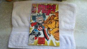 1991 MARVEL COMICS ALPHA FLIGHT # 103