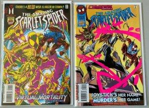 Scarlet Spider set:#1+2 8.0 VF DIR (1995)