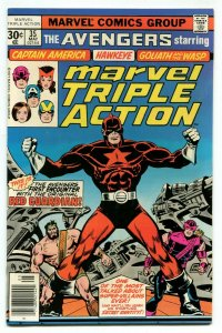Marvel Triple Action 35 NM 9.4 Avengers Marvel 1977 Uncertified FREE SHIP