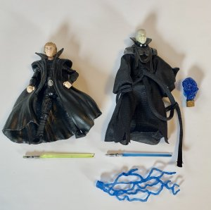 Star Wars Luke Skywalker & Palpatine Clone Comic Pack Figures