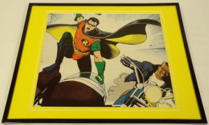 Robin DC Comics Framed 11x14 Photo Display