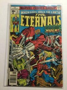 Eternals 14 Good+ Gd+ 2.5 Marvel