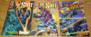 the Suit #1-3 VF/NM complete series D.G. CHICHESTER 1996 virtual MIKE WIERINGO