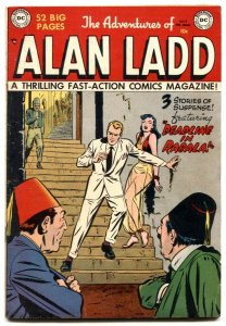 Adventures Of Alan Ladd #9 1951- Final issue FN