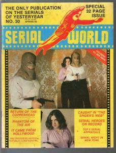 Serial World #30 1982-Kretzer-Phantom of The Air-Copperhead-VG/FN