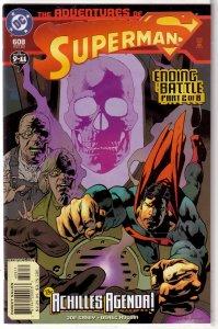 Adventures of Superman   vol. 1   #608 VF/NM (Ending Battle 2)