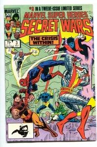 MARVEL SUPER HEROES SECRET WARS #3 1st Volana + Titania comic book NM-