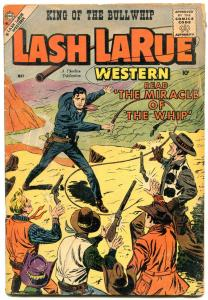 Lash LaRue #72 1959- Charlton Western- Whipping cover VG